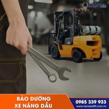 Quy trình bảo dưỡng xe nâng dầu đúng chuẩn chuyên gia để xe luôn hoạt động tốt nhất