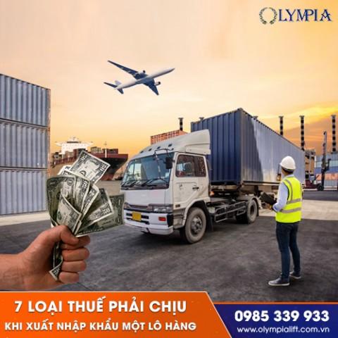 7 loại thuế phải chịu khi xuất nhập nhập khẩu một lô hàng