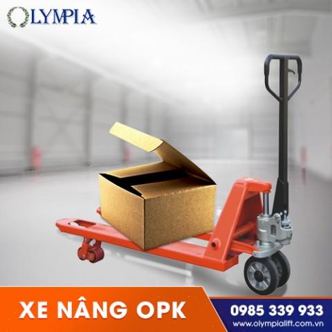Vì sao nên sử dụng xe nâng Opk trong các ngành công nghiệp?
